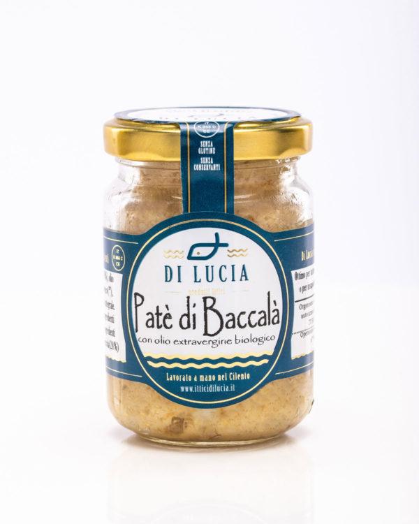 Paté di baccala in olio extravergine di oliva